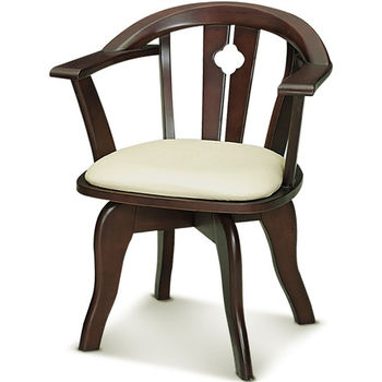 【MY傢俬】復古簡約旋轉休閒椅