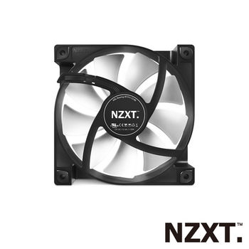 NZXT恩傑 FN120V2/12公分/九葉刀/系統靜音防震風扇