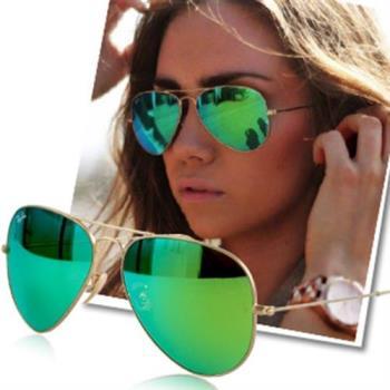 【Ray Ban雷朋】3025-112/19-62-水銀鏡面太陽眼鏡(#水銀綠-大版)