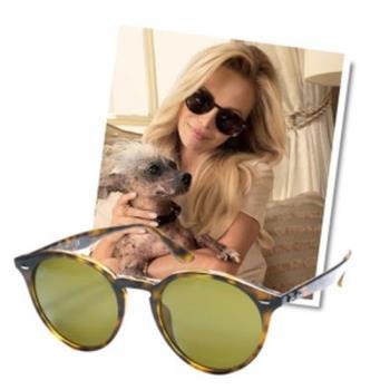 【Ray-Ban雷朋】2180F-710/73-NEW!復古圓框-雷朋太陽眼鏡(#亞洲加高鼻墊款)