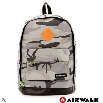 【美國AIRWALK】迷彩叢林豬鼻系防潑水後背包-共二色