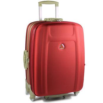 【Audi 奧迪】25吋~時尚系列TSA~Audi行李箱/旅行箱M-71725-紅