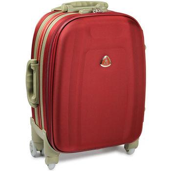 【Audi 奧迪】18吋~時尚系列TSA~Audi行李箱/旅行箱M-71718-紅