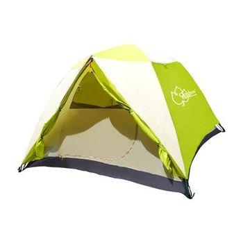 (加碼送3好禮)【OutdoorBase】大自然快搭式速立六人帳篷(標準輕便款)-21164
