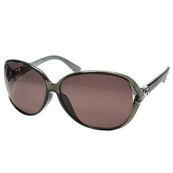 【GUCCI 太陽眼鏡】簡約時尚款-透明灰(GG3792/F/S-ML1)