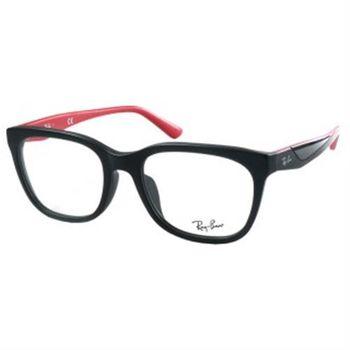 【Ray Ban雷朋】5331D-5503-光學眼鏡(#黑-紅)