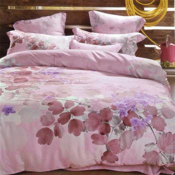 【AmoreCasa】想念時刻 TENCEL天絲加大六件式兩用被床罩組