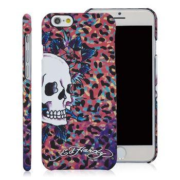 ED HARDY iPhone6 plus/6s plus (5.5)保護殼-彩色豹紋