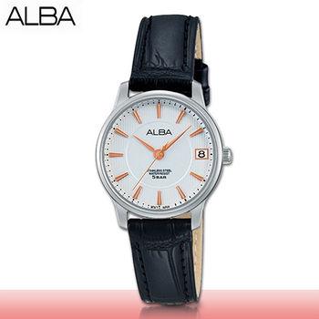【SEIKO 精工 ALBA 系列】送禮首選_時尚氣質簡約型_指針女錶(AG8519X1)