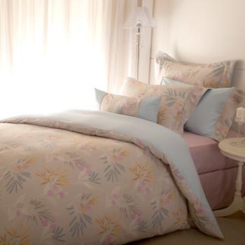 BBL 寧靜100%精梳棉.印花雙人四件式床包組