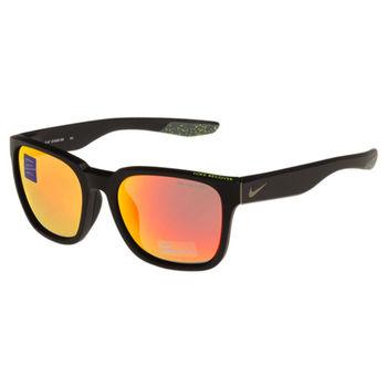NIKE- 反光運動太陽眼鏡(黑色)
