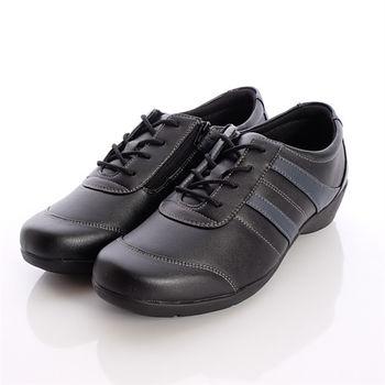 moonSTAR日本製輕熟男女機能鞋-輕熟女休閒鞋-EVE222CA6黑