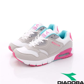 DIADORA義大利國寶鞋-氣墊透氣慢跑款-WC9873女款