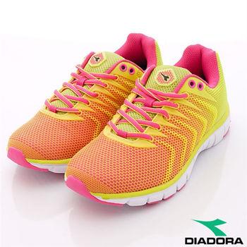 DIADORA義大利國寶鞋-鯊魚競速專業款-WR2673女款-亮黃