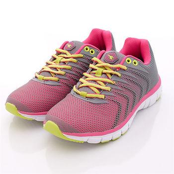 DIADORA義大利國寶鞋-鯊魚競速專業款-WR2678女款-灰桃