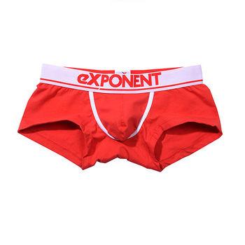eXPONENT 都會基本款四角褲(紅) D13O0103A