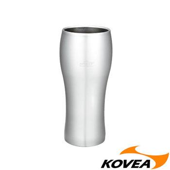【韓國KOVEA露營戶外用品】DB304不鏽鋼雙層啤酒杯