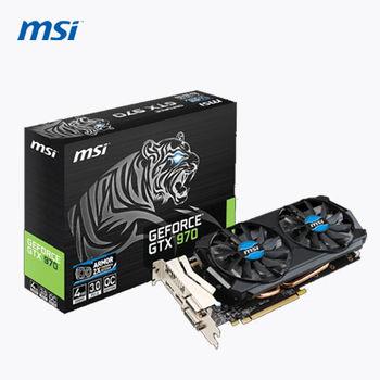 MSI 微星 GTX 970 4GD5T OC 顯示卡 (雙風扇設計)