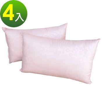 【蒙娜麗莎】3M健康防蹣抗菌枕-枕心-4入/組