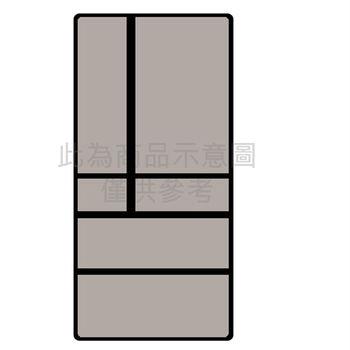 ★地區限送桃園以北★『Panasonic』☆ 國際牌 608公升 ECONAVI六門變頻冰箱 NR-F611VX-X1(鑽石黑)