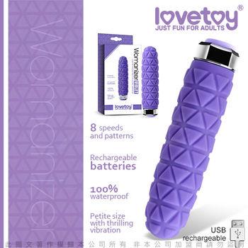 Lovetoy Womanizer 8段變頻靜音迷你時尚按摩棒 VIOLET