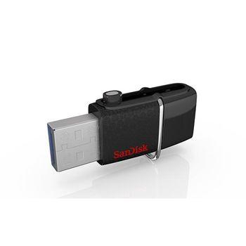 SanDisk 64GB Ultra Dual OTG2 USB3.0雙傳輸隨身碟 (讀取速度150M)