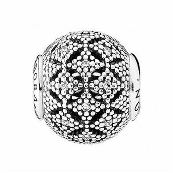 【Pandora】Essence系列憐憫之心水晶鋯石純銀墜飾串珠(796073CZ)
