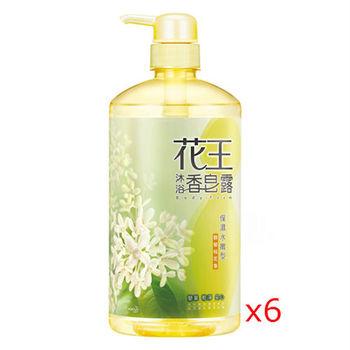 花王香皂露  保濕水嫩型 馥郁桂花香 750ml (6入)
