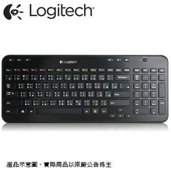 【Logitech 羅技】 K360r 無線2.4G多媒體鍵盤