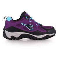 ~DIADORA~女戶外跑鞋 ^#45 慢跑 路跑 休閒  紫水藍
