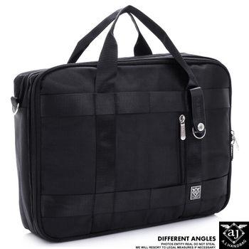 【AJ.亞介】 都會商務 手提筆電公事包 斜背包 後背包  2色 (UE6809)