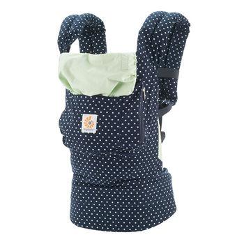 美國ERGObaby爾哥寶寶嬰童背帶-軍藍水玉(原創款)