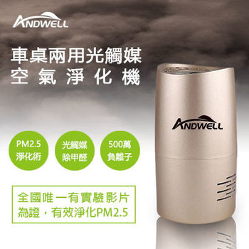【ANDWELL】甲醛/PM2.5光觸媒空氣淨化機