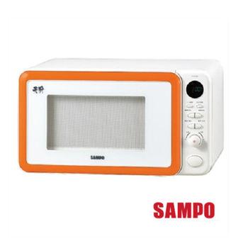【聲寶SAMPO】23公升天廚平台式微波爐/RE-N323PM