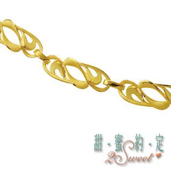 【甜蜜約定】純金女手鍊HC-S1433