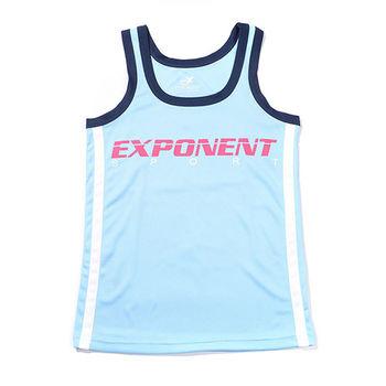 eXPONENT 運動透氣數字背心(天藍) 124T0710