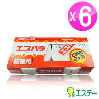 ST雞仔牌 便利防蟲劑圓狀吊掛式/補充片2入盒裝 6組ST-301539