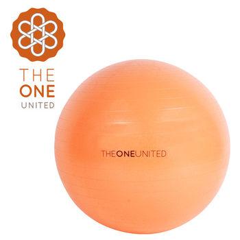 【The One】環保TPE防爆瑜珈球65cm-附打氣筒(橙色)