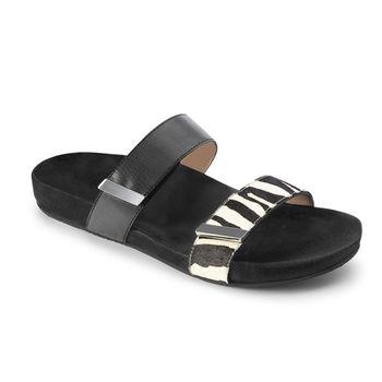 【美國VIONIC法歐尼】健康美體時尚鞋  Jura-茱芮(黑色斑馬紋)