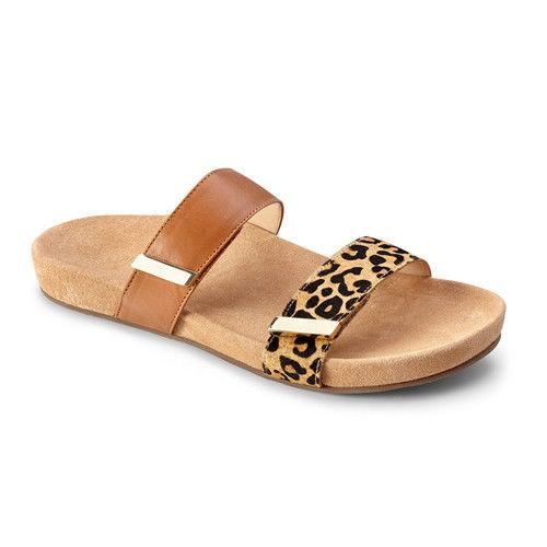 【美國VIONIC法歐尼】健康美體時尚鞋 Jura-茱芮(咖啡豹紋)