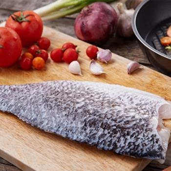【賣魚的家】黃金尖吻鱸魚片20片組(220g±10%/片)
