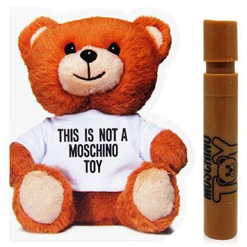 MOSCHINO 熊芯未泯 中性淡香水 針管 x2入組