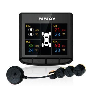 PAPAGO TireSafe D10E 胎壓偵測支援套件 胎外式