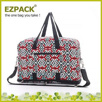 【EZPACK】輕巧收合旅行袋 EZ81113 印加圖騰