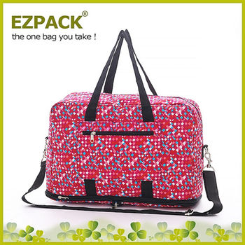 【EZPACK】輕巧收合旅行袋 EZ81113 紅色蘇打