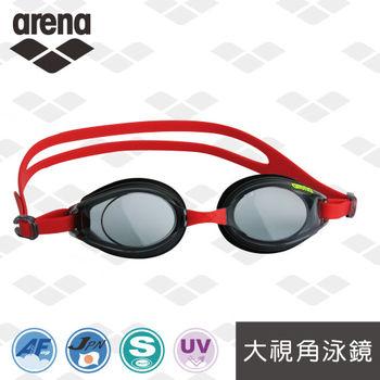 arena AGY-380訓練款防霧抗UV泳鏡日本製官方正品