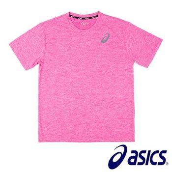 【Asics 亞瑟士】  抗UV透氣T恤 K11606-16  (粉紅)