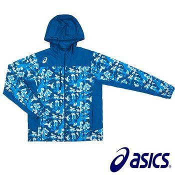 【Asics 亞瑟士】輕量 風衣外套 平織外套 K11605-50  (藍)