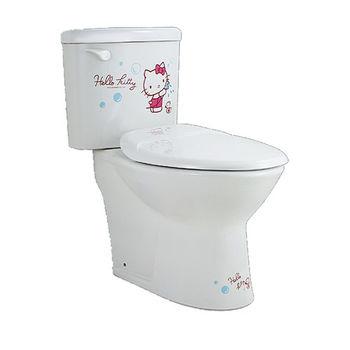 【HCG】Hello Kitty系列-CS4394(KS) 雙體馬桶(管距30CM)