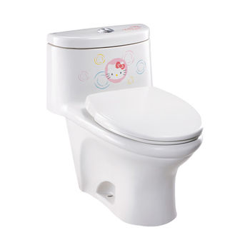 【HCG】Hello Kitty系列-C800MUT(KT) 單體馬桶(管距30CM)